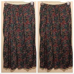Jason Prescott Vintage Floral Skirt Size 10